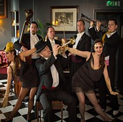 Great Gatsby Band www.thememyparty.co.uk