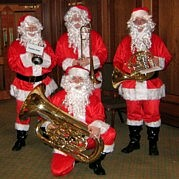 christmas brass band hire tmp